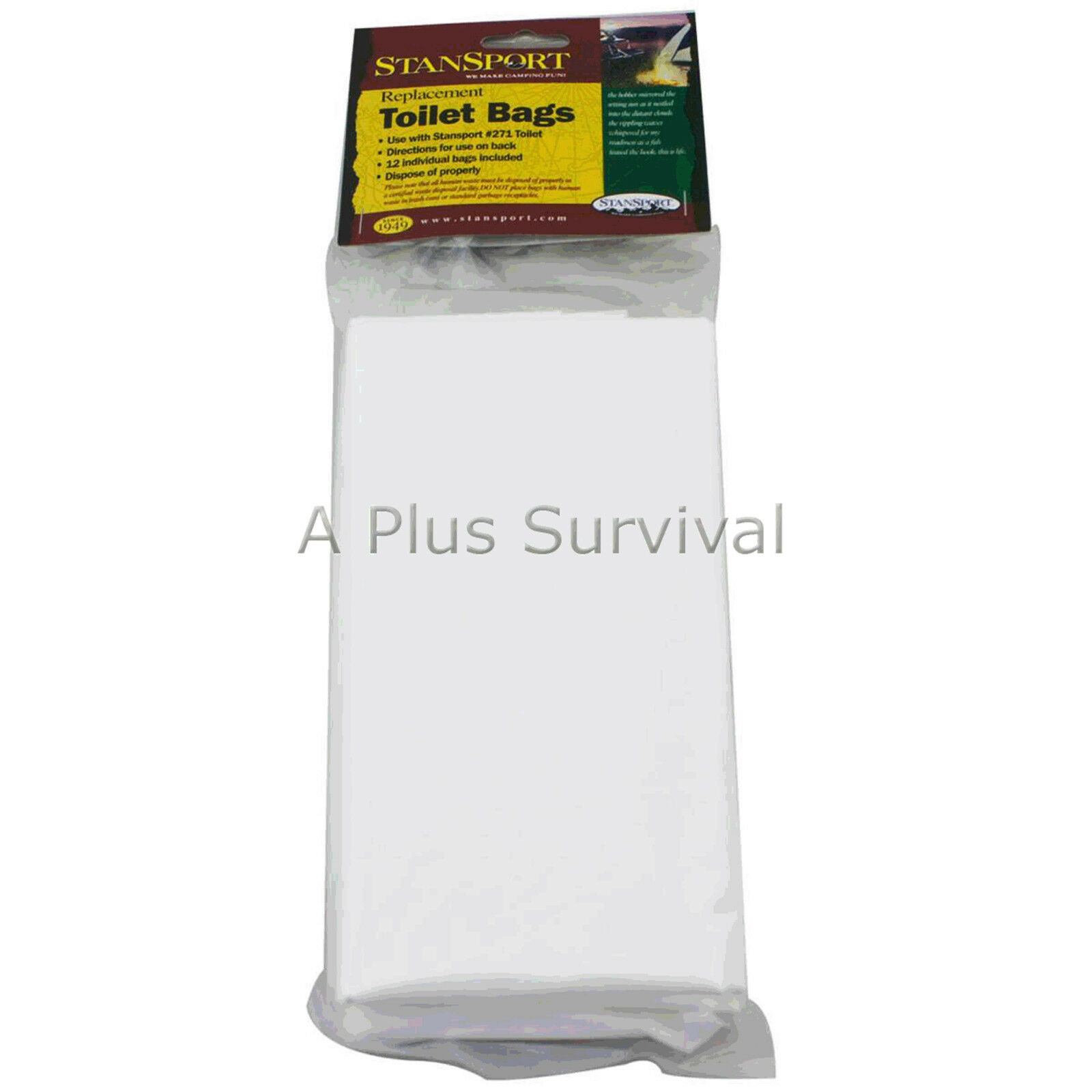 Lot of 216 Toilet Bags   Liners for Portable Toilets