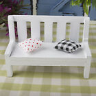1:12 Mini Wooden Bench Dolls House Miniature Garden Furniture Accessory
