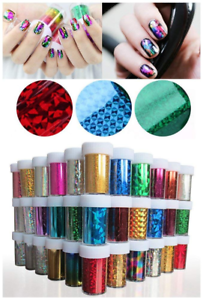 XICHEN-48-Colors-Starry-Sky-Stars-Nail-Art-Stickers-Tips-Wraps-Foil-Transfer