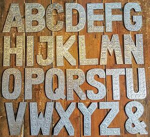 A-Z-Alphabet-Letters-Large-Silver-Aluminium-Wall-Hanging-Letter-Sign-Name-Signs