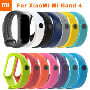 Neu-fuer-Xiaomi-Mi-Band-4-Ersatz-Silikon-Armband-Handgelenk-Band-Armband-Armband