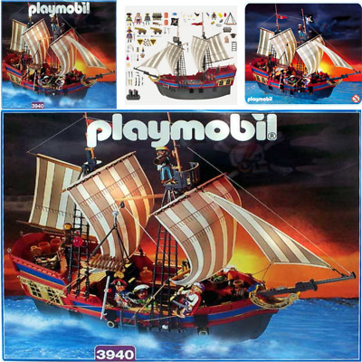 Playmobil 3750 3053 3550 Pirate Ship Spare Parts Replacements
