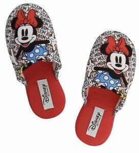 codici promozionali scegli il più recente caratteristiche eccezionali Dettagli su Minnie Mouse Rosso Pantofole per adulti DEFONSECA, UK taglia  4-5 DISNEY STORE-NUOVA CON ETICHETTA- mostra il titolo originale