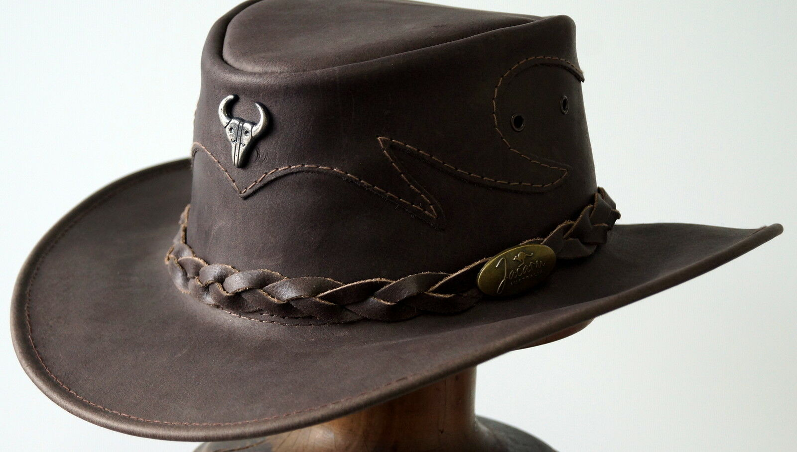 Jacaru Buffalo Brown Medium Large  hat  Rodeo Texas Cowboy Western SPECIAL hats