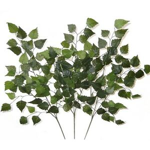 Image is loading Set-of-3-Birch-Tree-Branches-60cm-Decorative-