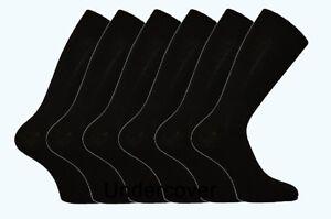 6-Pairs-Mens-Big-Foot-Plus-Size-Cotton-Rich-Dress-Socks-Size-11-14