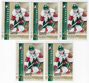 MARTIN-FRK-11-12-ITG-Prospects-RC-Rookie-Lot-of-5-55-Red-Wings-Draft-Pick