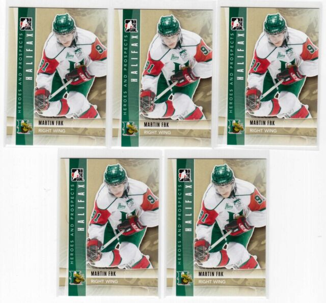 MARTIN FRK 11/12 ITG Prospects RC Rookie Lot of (5) #55 Red Wings Draft Pick