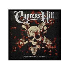 """Cypress Hill"" Skull & Crossbones Band Art Hip Hop Music Sew On Applique Patch"