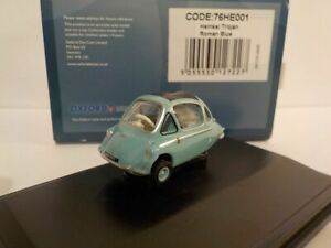 Model-Car-Heinkel-Trojan-Blue-1-76-New