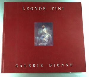 "Livre Leonor Fini ""galerie Dionne"" / Peinture"