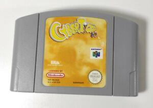 Cyber Tiger Nintendo 64 N64 juego solo carro PAL Reino Unido Probado Funcionando