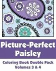 Picture-Perfect Paisley Coloring Book Double Pack (Volumes 3 & 4) by H R Wallace Publishing, Various (Paperback / softback, 2014)