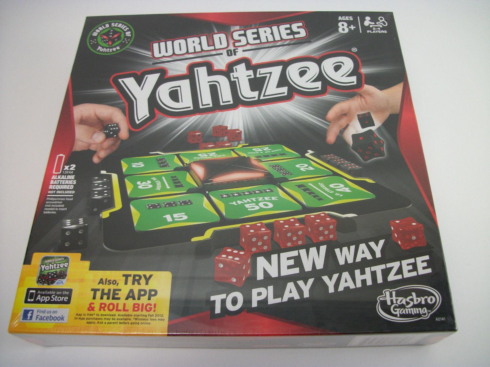 Hasbro yahtzee elektronischen spiel world series 2 bis 4 spieler classic im alter von 8 + new y