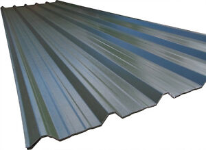Details about Box Profile Roofing & Cladding Sheets Metal Roof Sheeting  Juniper Green 0 5mm