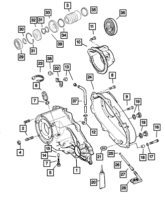 2002-2005 DODGE RAM WITH 243 TRANSFER CASE MODE SWITCH OEM NEW MOPAR GENUINE