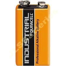10 x Duracell 9V Industrial Batteries MN1604 6LR61 PP3 block
