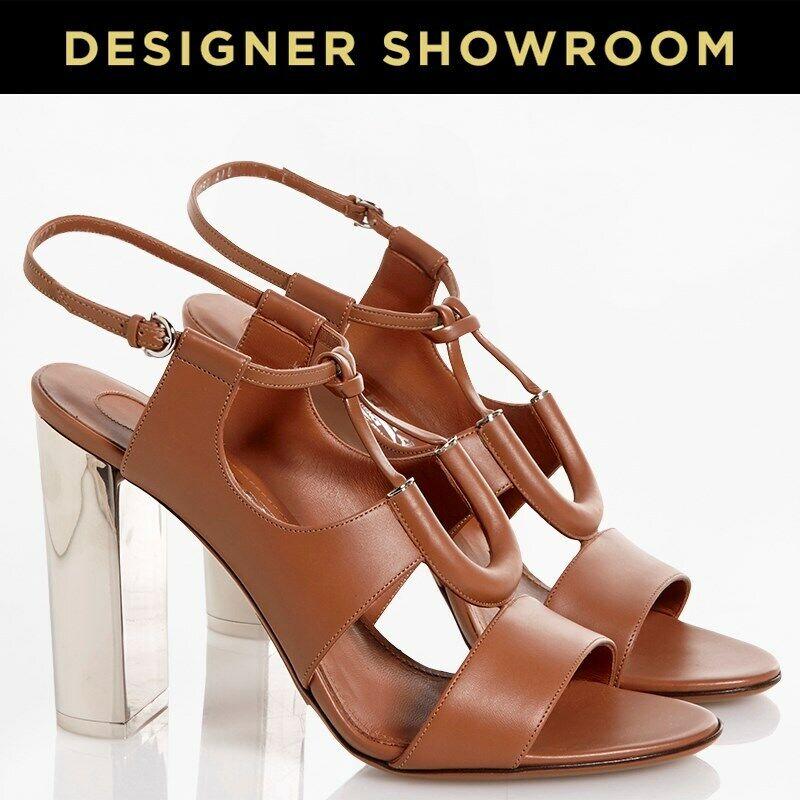 Salvatore Ferragamo Leather  Mirror Heel Sandals - Molti Dimensiones - Brand Nuovo  servizio onesto