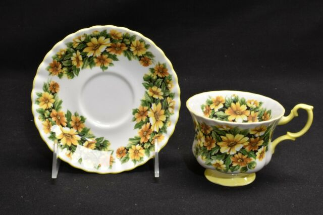 Royal Albert Marguerite Fragrance Series Cup & Saucer