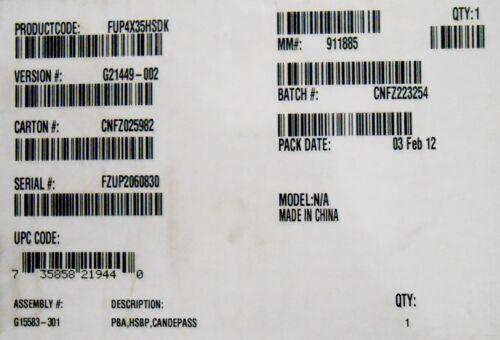 Intel FUP4X35HSDK Pedestal Chassis Hot Swap Drive Kit New Bulk Packaging