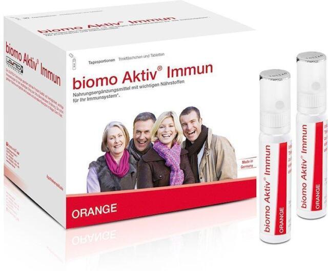 biomo Aktiv Immun Trinkfläschchen+Tabletten 14-Tages-Kombi 1P PZN: 10186939