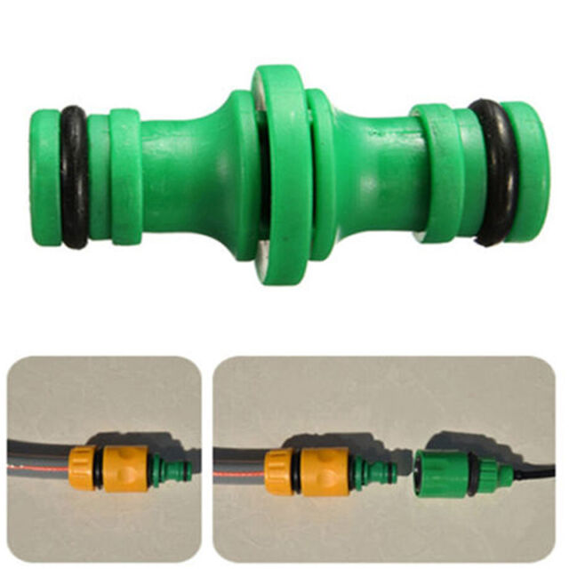 1/2Inch male to 1/2Inch male quick connector For Garden Hose Pipe Water Fas F6D2