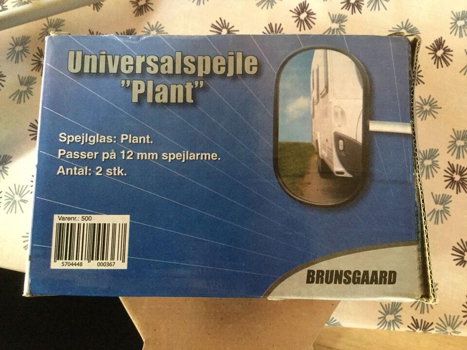 Universalspejle til anhænger/campingvogn