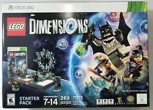 Details about Lego Dimensions Starter Pack for XBox 360 NIB