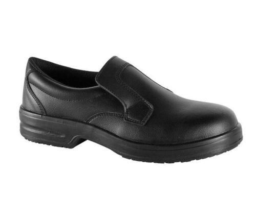 chaussures de sécurité noir cuisine Chaussures s1 Antidérapant schutzkap Chaussures de travail