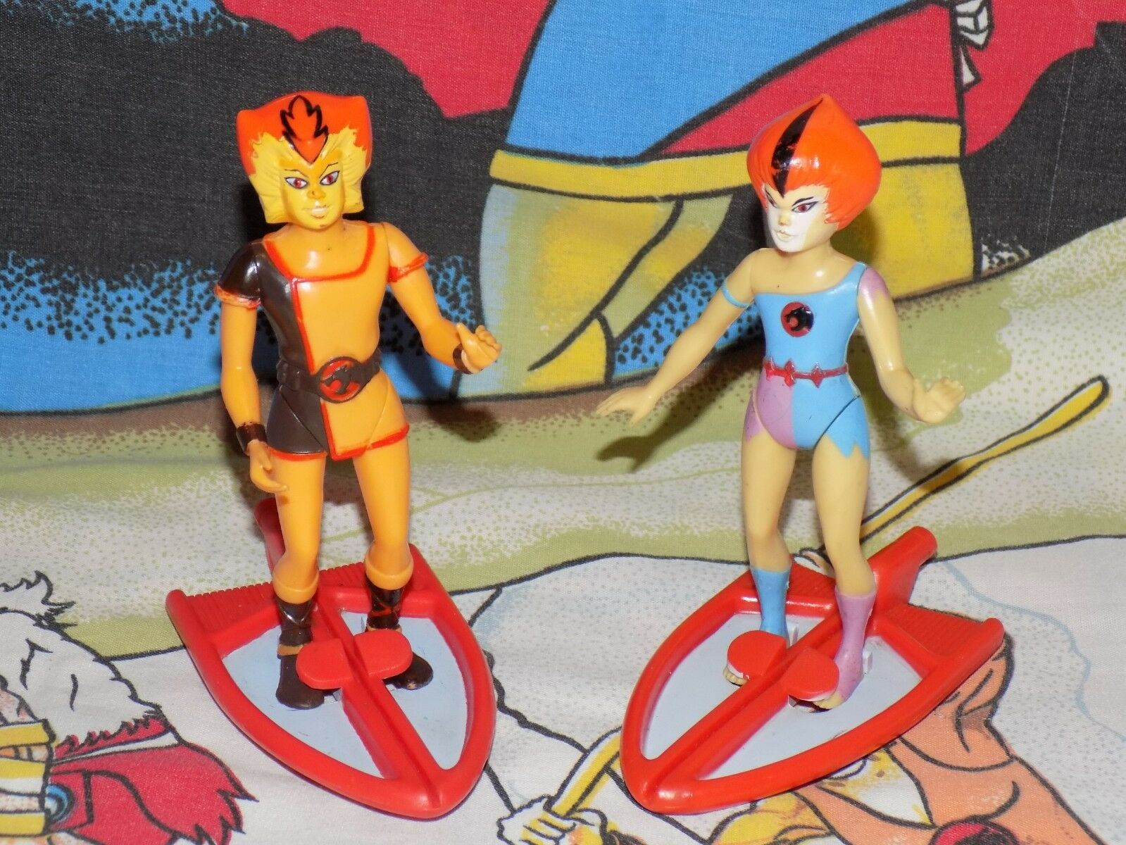 Thundercats loose completo astuto KIT KAT Wiley schede THUNDER Kittens LJN Figura