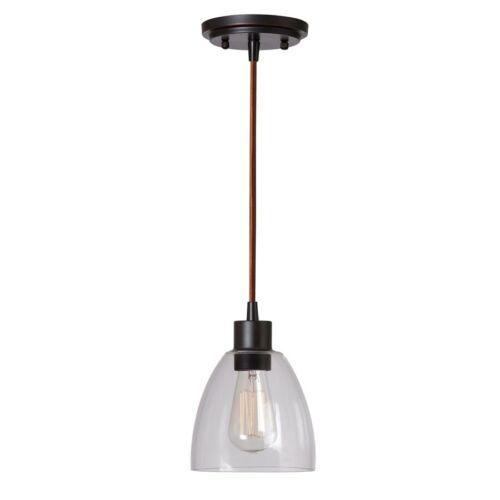 Kenroy Home Edis 1 Light Mini Pendant Oil Rubbed Bronze 92100ORB