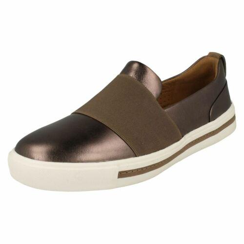 sin cordones Maui con Un Step para Metallic estilo Clarks mujer Calzados dorado Pebble 4fwnUqdA4