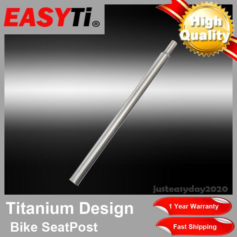 EasyTi  GR9 Titanium Ti 31.8mm CNC Seatpost Seat Post for Brompton Folding Bike