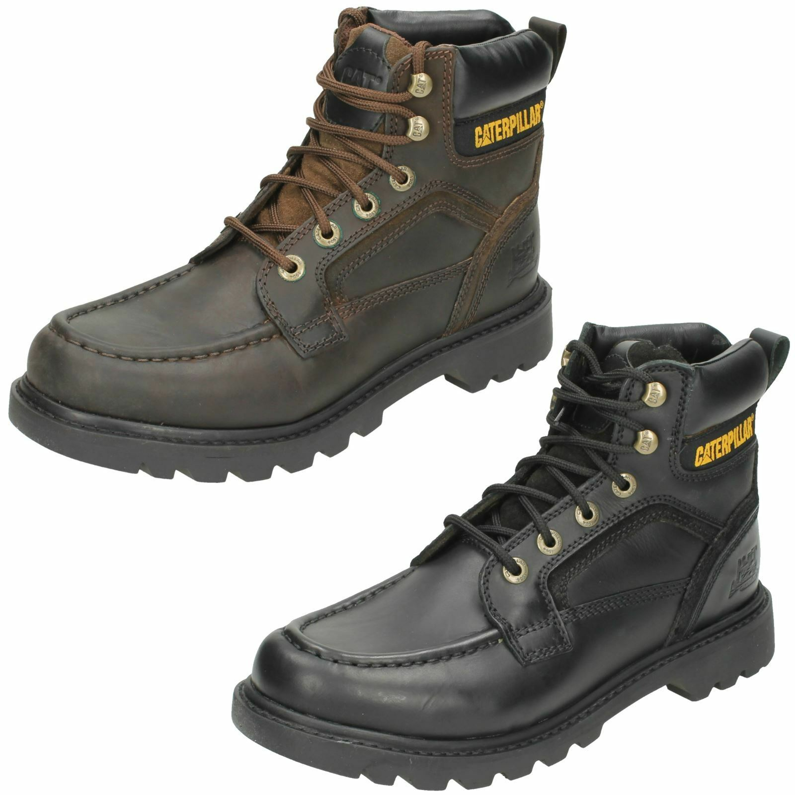 Mens Caterpillar Work Leather Boot Transpose