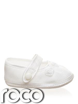 Baby Mädchen elfenbeinfarben Taufschuhe, Schuhe, Taufe Geschenk