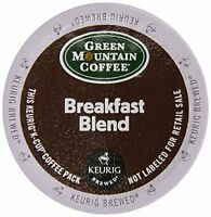 Keurig, Green Mountain Coffee, Breakfast Blend, K-cup Packs, 72 Count , New, Fre on Sale
