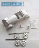 Slmc 42 Sports 2 Seater Roadster (copy Of French Dinky 22a) White Metal Kit