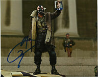 "Tom Hardy Signed 10X8 PHOTO In Person The Dark Knight Rises ""Bane"" (N)"