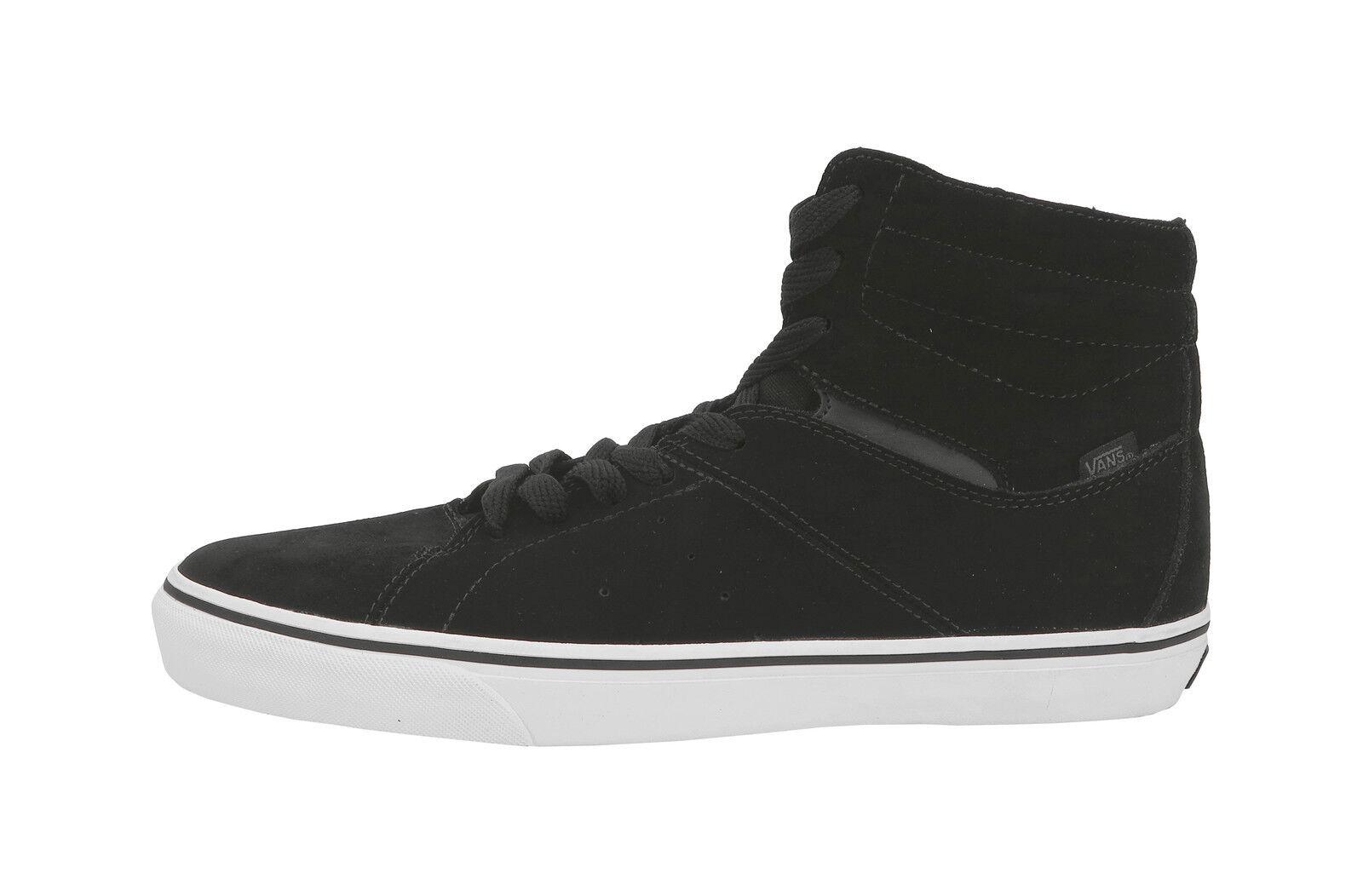 Vans Paladin Suede Black White High Top Shoes Skateboarding Sneakers