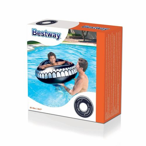 X2 Inflatable Ride On Swimming Paddling Pool Float Beach Lounger Toy Lilo