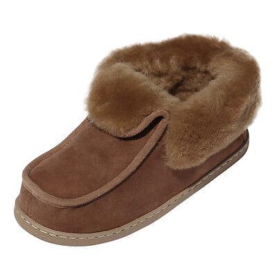 Pelle di pecora Pantofole Mocassino Parker in pelliccia agnello Scarpe nuovo