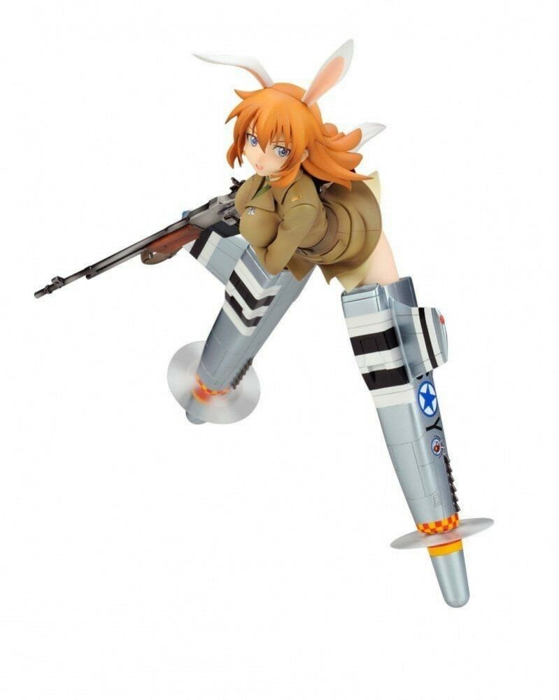 Strike Witches Charlotte E. Yeager 1/8 PVC Figure Alter. JAPAN F/S J6218