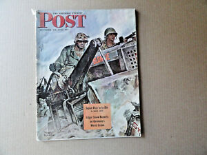 Saturday-Evening-Post-Magazine-October-28-1944-Complete-Japan-Digs-In-To-Die