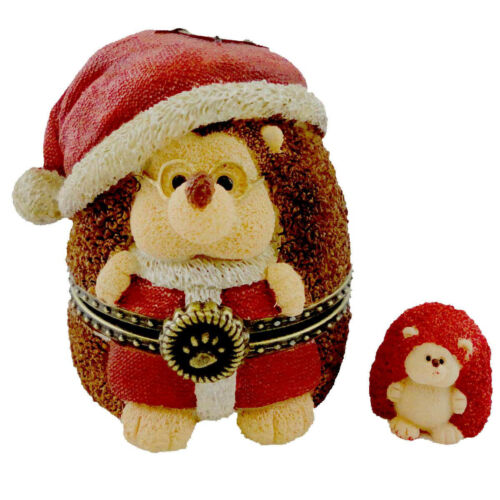 BOYDS BEAR TREASURE BOX SANTA HEDGE N CLAUS #4016656 NWT!!!