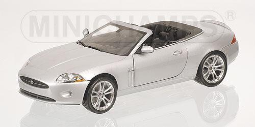 Jaguar XK Converdeible 2006 plata 150130530 1 18 Minichamps