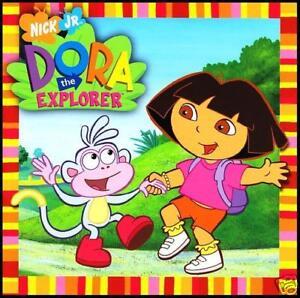 DORA-THE-EXPLORER-SOUNDTRACK-CD-NICKELODEON-KIDS-CHILDREN-NEW
