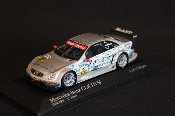 Minichamps Mercedes-Benz CLK-DTM 2003 1 43  4 Christijan Albers (NED) (JS)