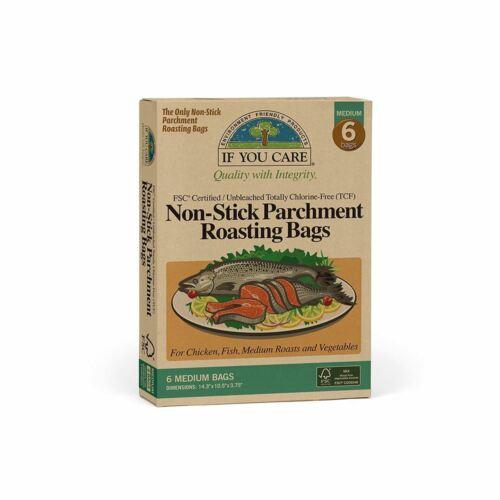 Si vous Care antiadhésif parchemin grillage Sacs-compostables//écru-Medium