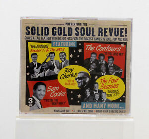 Solid-Gold-Soul-REVUE-Ray-Charles-Sam-Cooke-Four-Seasons-MUSIQUE-ALBUM-CD