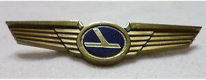 Eastern Airlines Jr Pilot Wings Lapel Pin Flight Attendant Airplane Jet x10 NOS